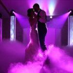 Pour un mariage en PACA fumée lourde ouverture de bal