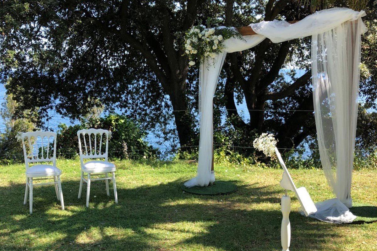 Mariage avec cérémonie laïque