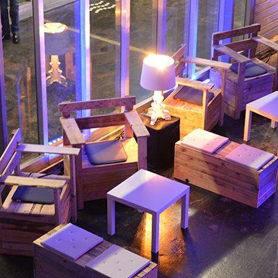 decoration mariage parasol mobilier bois led evenement var paca mise en lumière