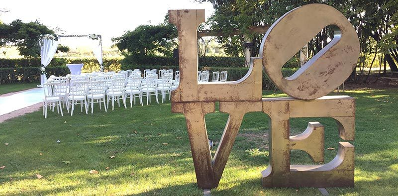décoration mise en lumiere mobilier sigle mariage var paca